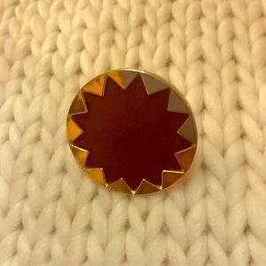 House of Harlow leather starburst ring